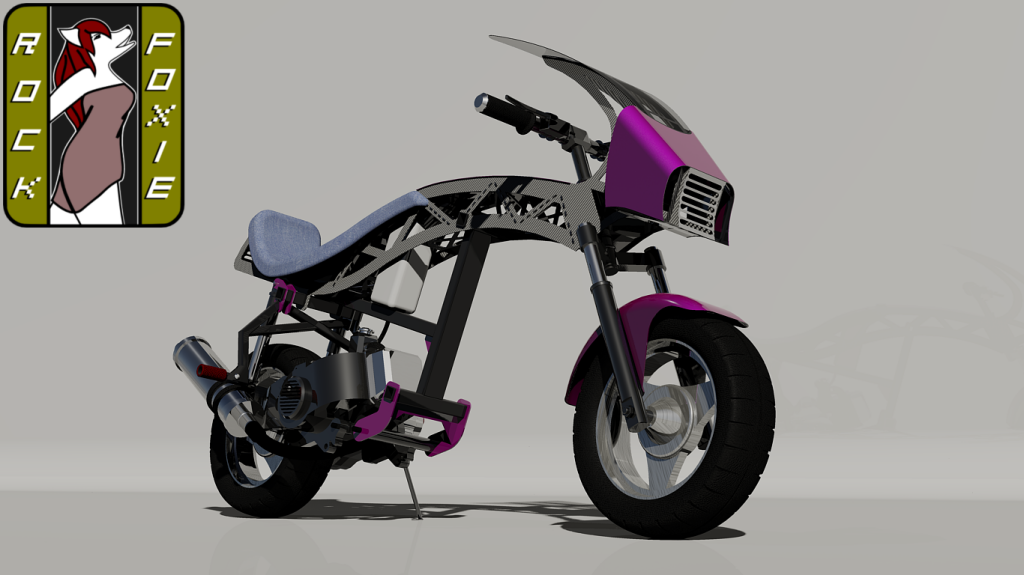 RockFoxie 3.01 Racing Scooter