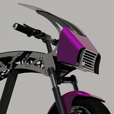 RockFoxie-Asthor 3! Гоночный скутер..