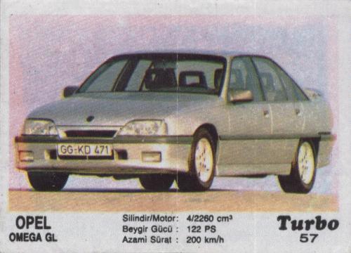 Турбо #57. Opel Omega GL.