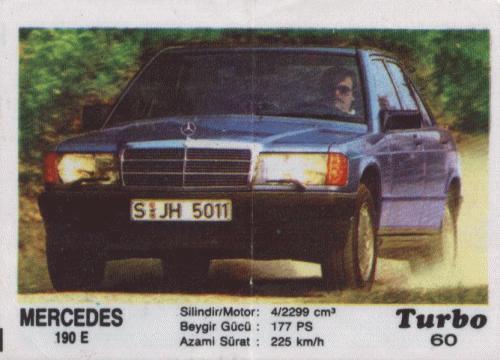 Турбо #60. Mercedes 190E