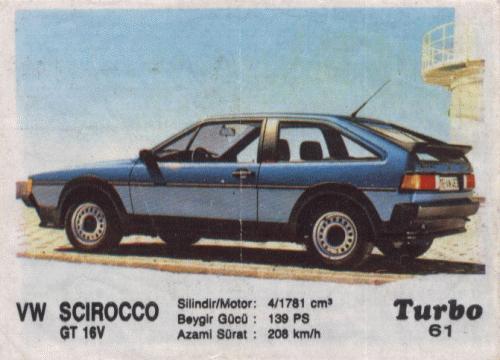 Турбо #61. VW Scirocco GT 16V