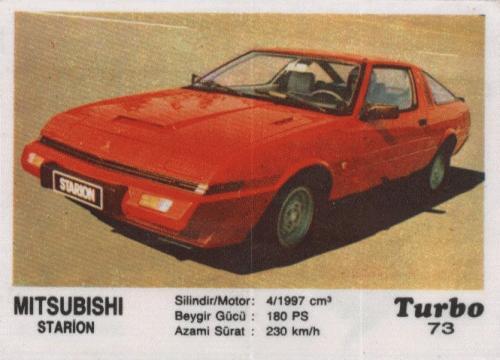#73 Mitsubishi Starion