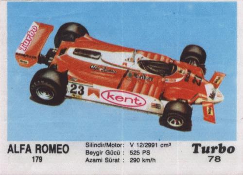 Турбо #78. Alfa Romeo 179.