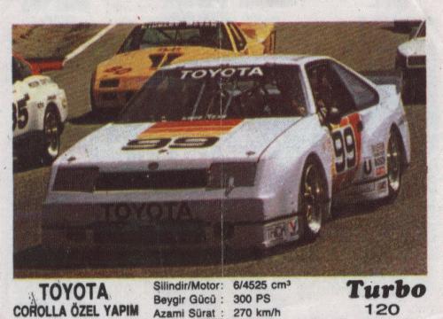 Турбо #120. Toyota Corolla Özel Yapim