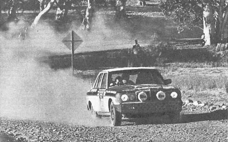1977 London-Sydney. The  winner was W123