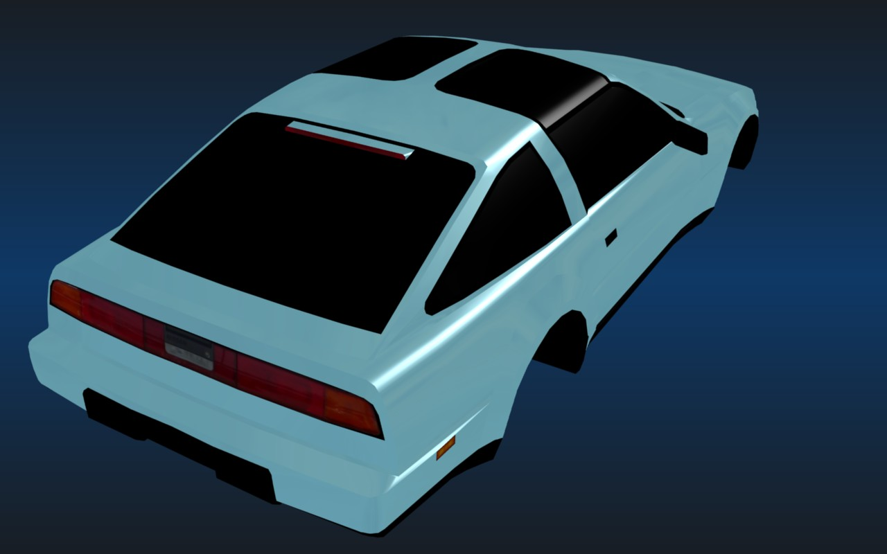 Inturbo #3. Nissan 300ZX.