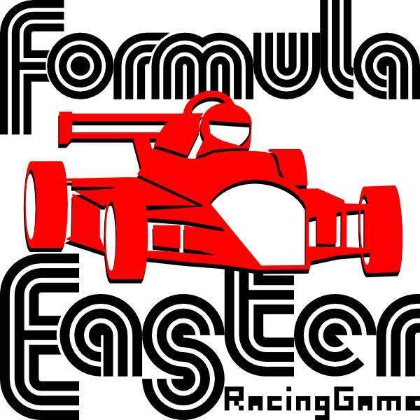 Formula Easter. Racing game.