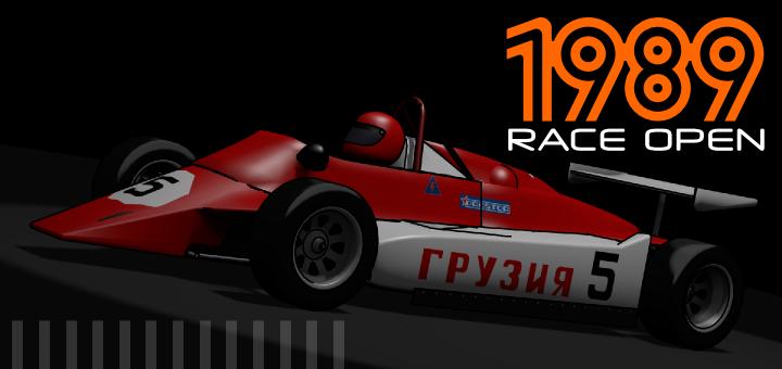 '1989 | RACE OPEN' Preliminary release 0.30