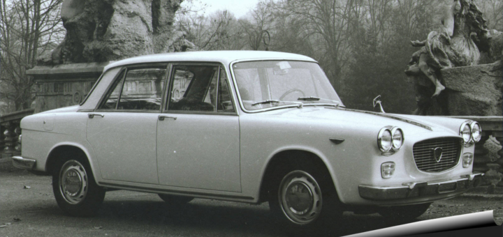 Lancia Flavia в жизни