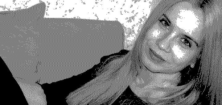 Изображение 1-bit для гравировки.
