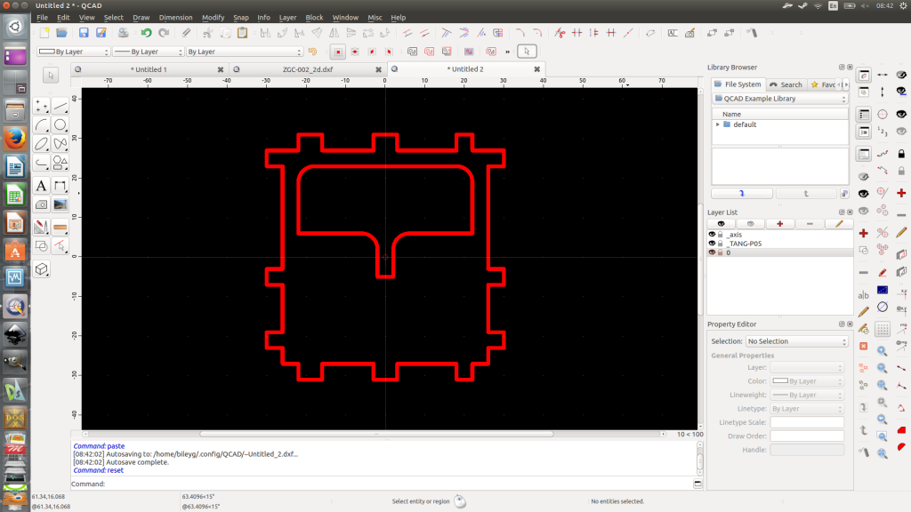 Each detail has individual dxf file made with QCAD.