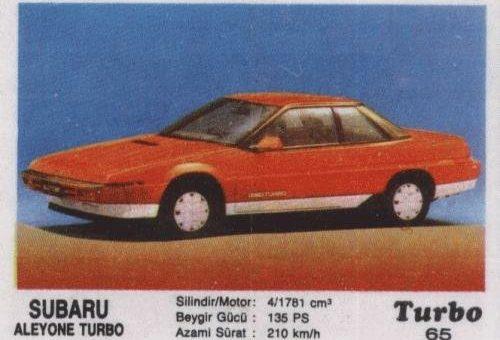 Турбо #65. Subaru Alcyone Turbo