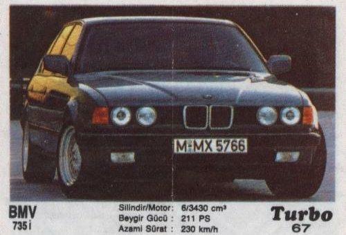 Турбо #67. BMW 735i.