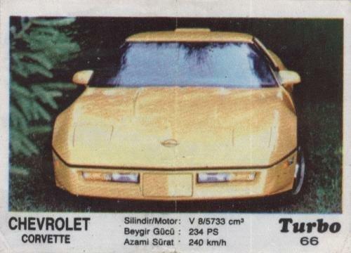 Турбо #66. Chevrolet Corvette.