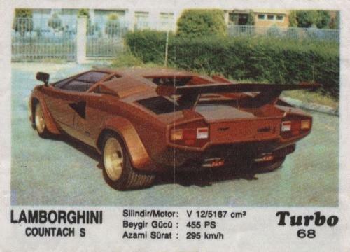 Турбо #68. Lamborghini Countach S.