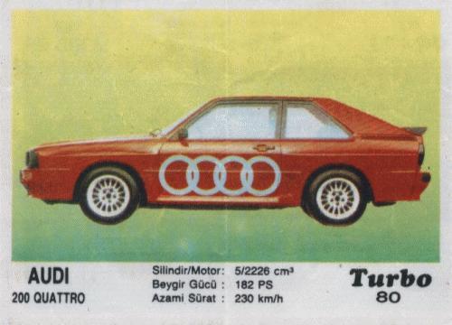 Турбо #80. Audi 200 Quattro.