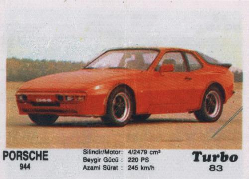 Турбо #83. Porsche 944.