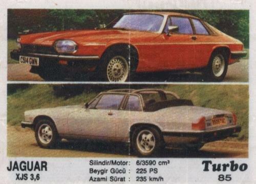 Турбо #85. Jaguar XJS 3,6