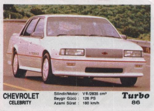 Турбо #86. Chevrolet Celebrity