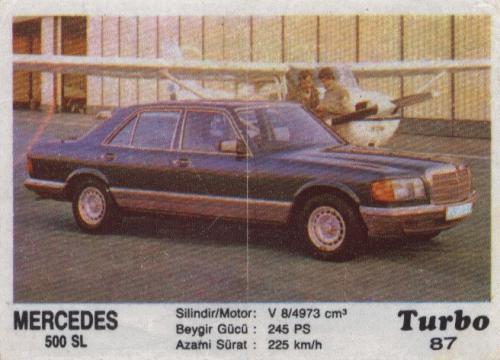 Турбо #87. Mercedes 500SEL