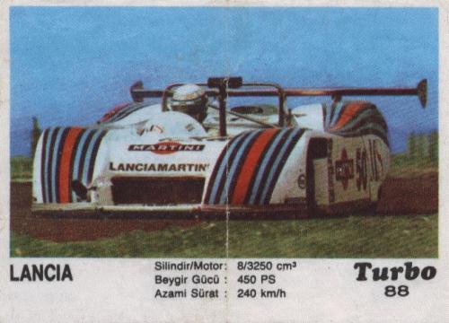 Турбо #88. Lancia LC1