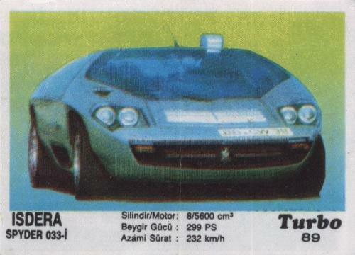 Турбо #89. Isdera Spyder 033i