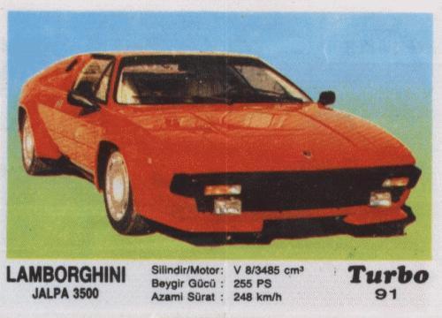 Турбо #91. Lamborghini Jalpa