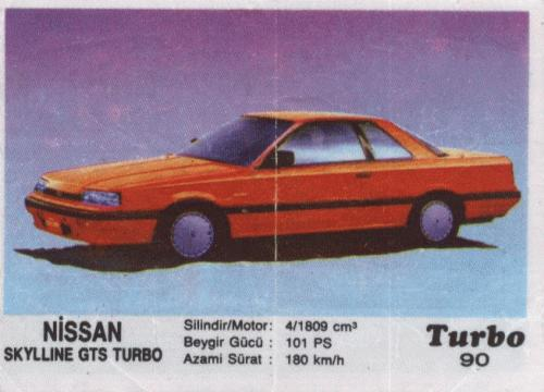 Турбо #90. Nissan Skyline GTS Turbo