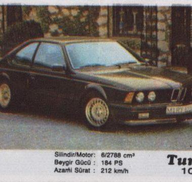 Турбо #100. BMW 636CSi