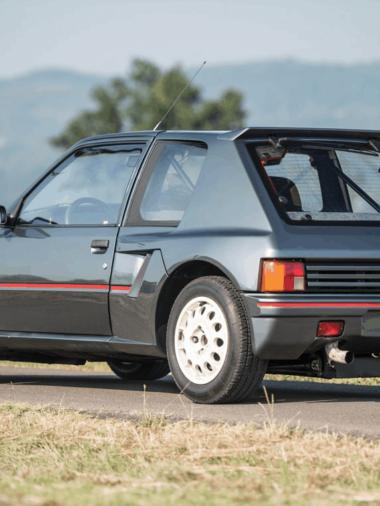 Турбо #101. Peugeot 205 T16